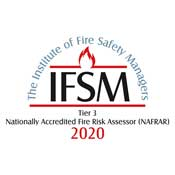 Institute of Fire Safety Managers logo - tier 3 2020