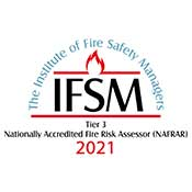 Institute of Fire Safety Managers logo - tier 3 2021